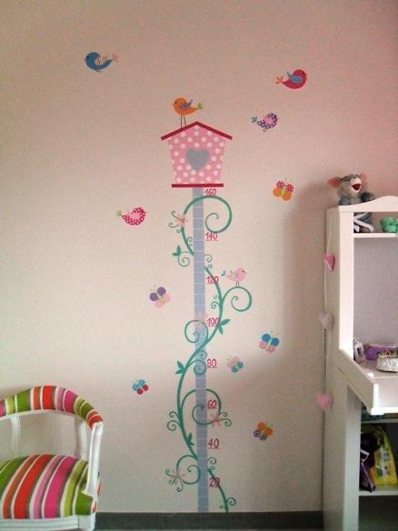 La bottega dell 39 artista decorazioni su pareti - Decorazioni per camerette ...