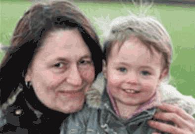 Wendy Richmond dan anaknya