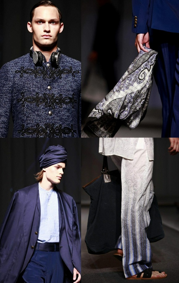 Etro Spring-Summer 2013 in Milan Men's Fashion Week