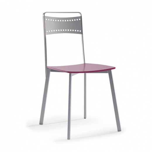 silla cocina cool metal madera color