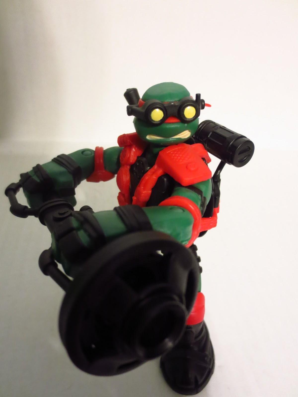 Figurki akcji i z filmów Space Cadet Raph Teenage Mutant Ninja Turtles Figure Only 1990 TMNT Film, telewizja i gry wideo
