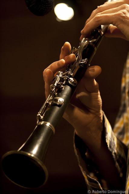 Detalle del clarinete de Robin Fincker