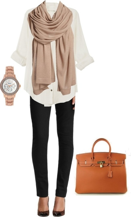 Adorable work outfit fashion with button down