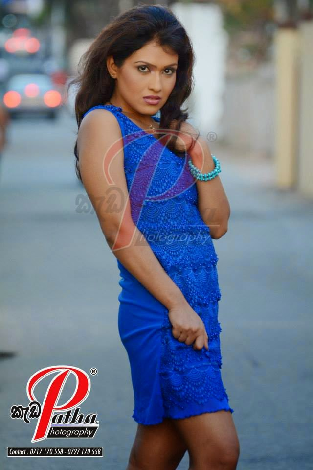 Anju Bandara blue