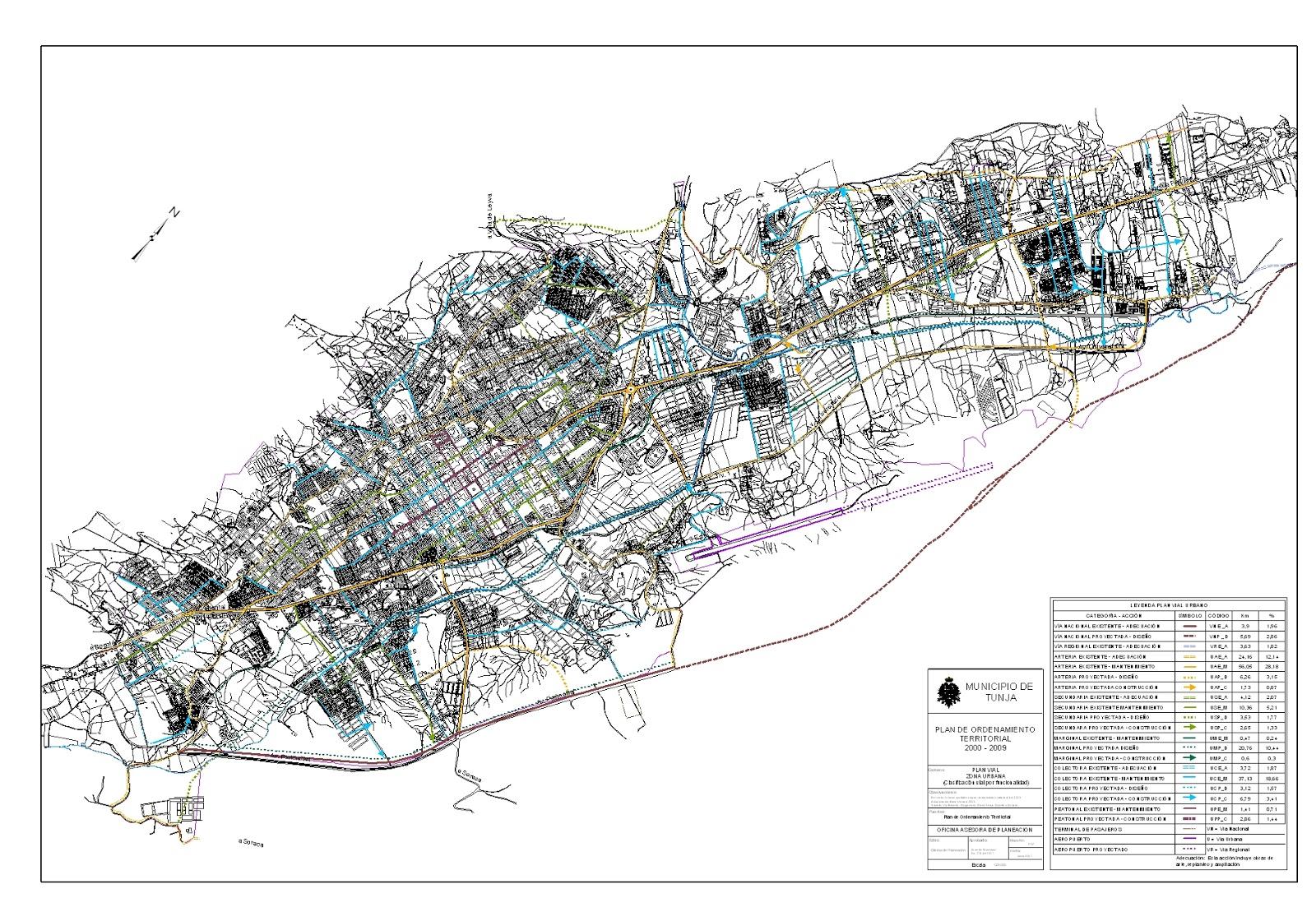El Debate Boyacense Las Políticas Públicas En Tunja Hacia Un - Tunja map