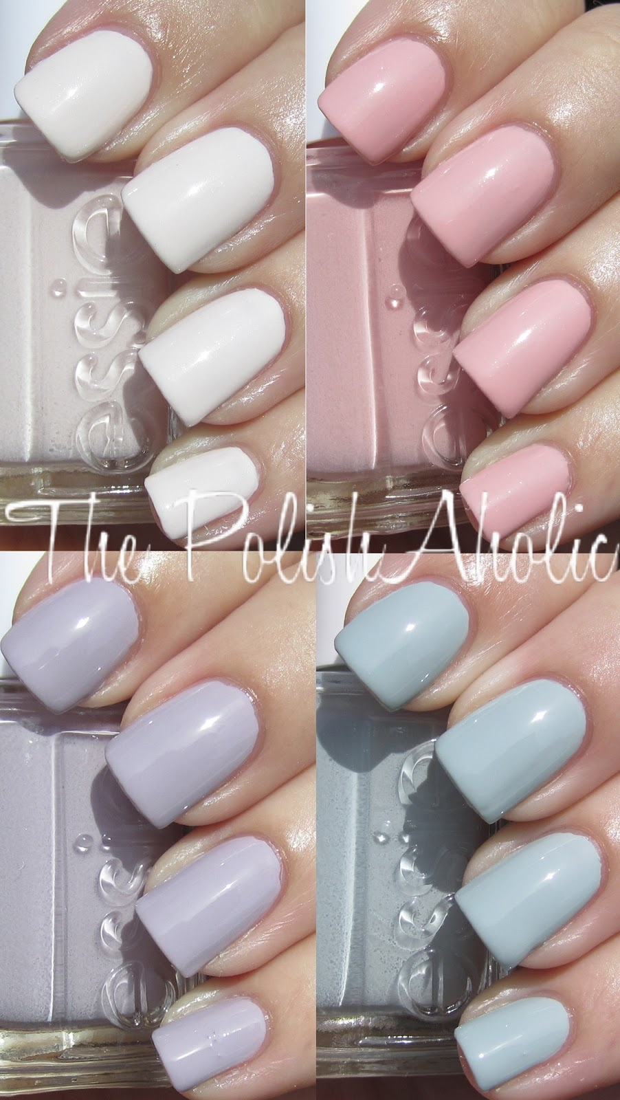 The PolishAholic: Essie Wedding 2012 Collection Swatches!