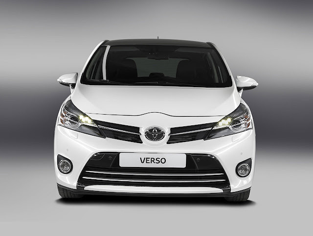 Tha New Toyota Verso front