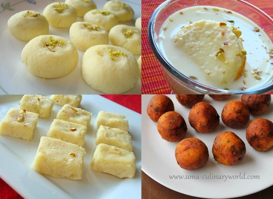 Indian Ricotta Recipes