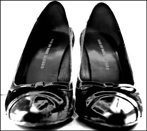 Psynopsis Marc by Marc Jacobs Patent Leather Shoes
