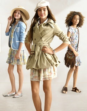 RALPH LAUREN LOOKBOOK NIÑAS GRANDES