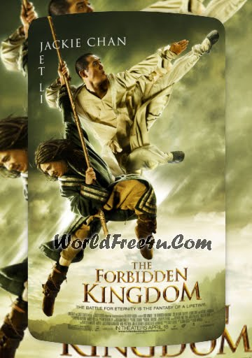 Poster Of The Forbidden Kingdom (2008) Full Movie Hindi Dubbed Free Download Watch Online At Downloadingzoo.Com