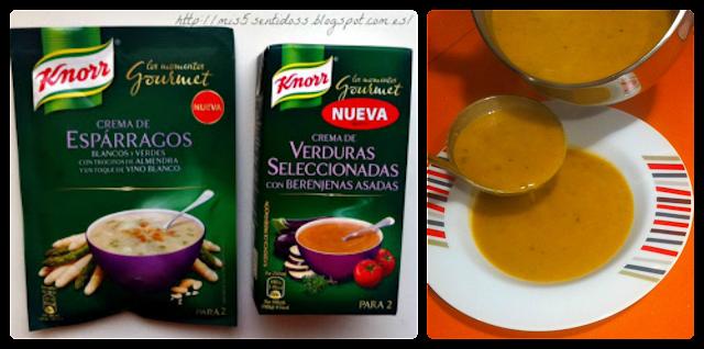 Degustabox Knorr Crema de Verduras + Crema de Espárragos