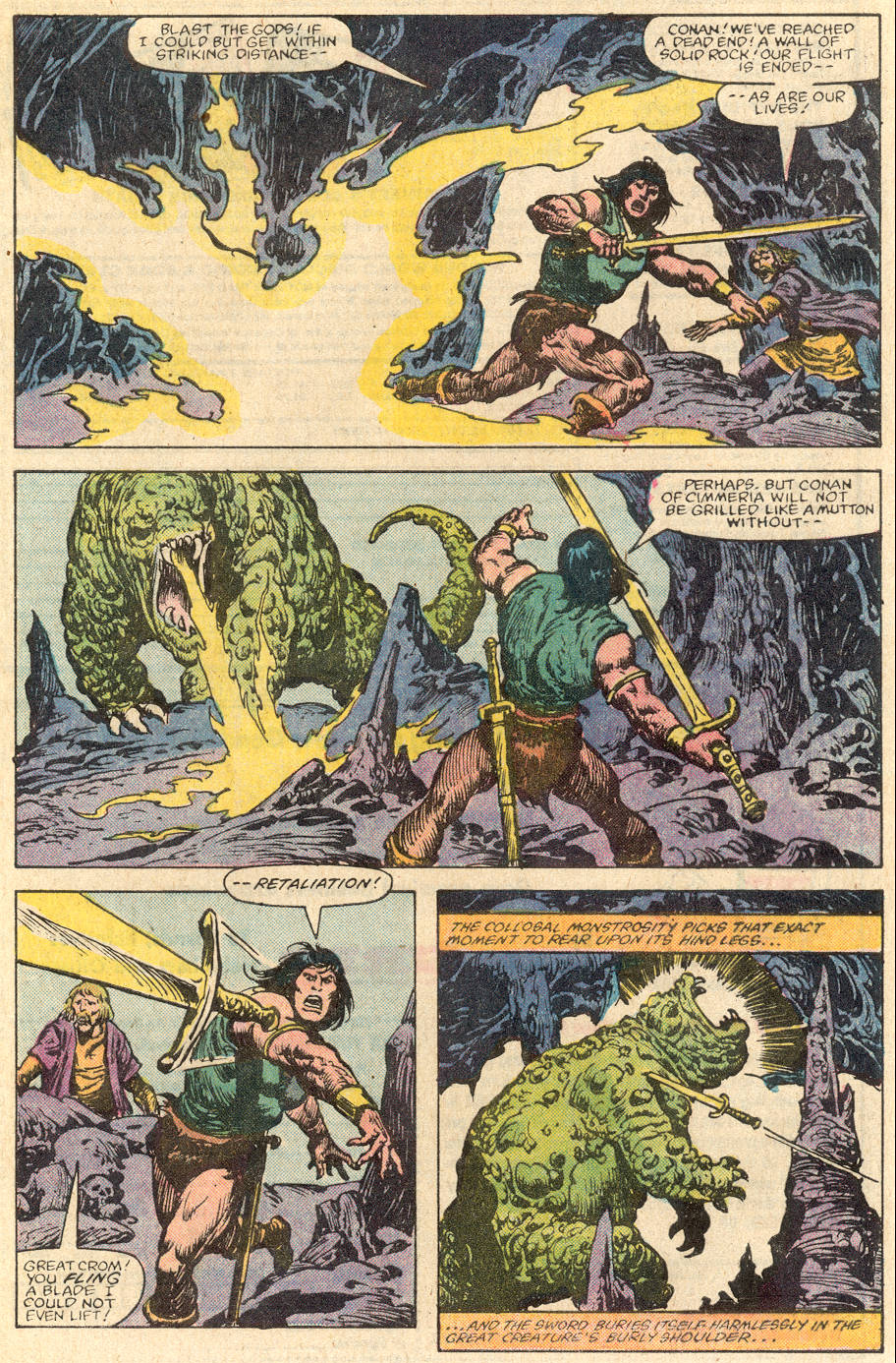 Conan the Barbarian (1970) Issue #144 #156 - English 4