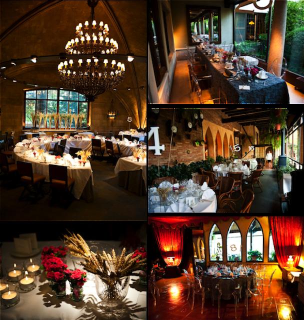 Distribución de las mesas boda