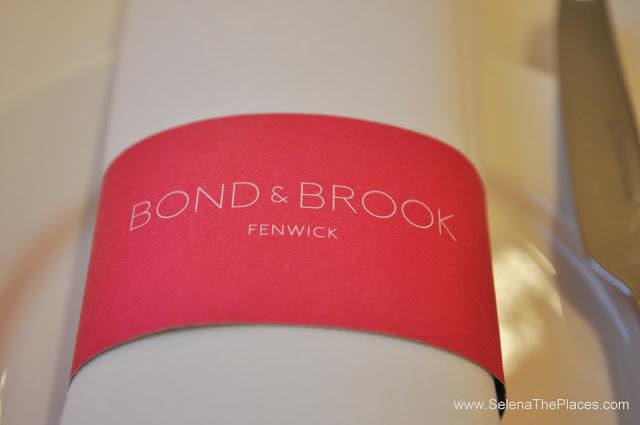 Christmas Tea at Bond & Brook
