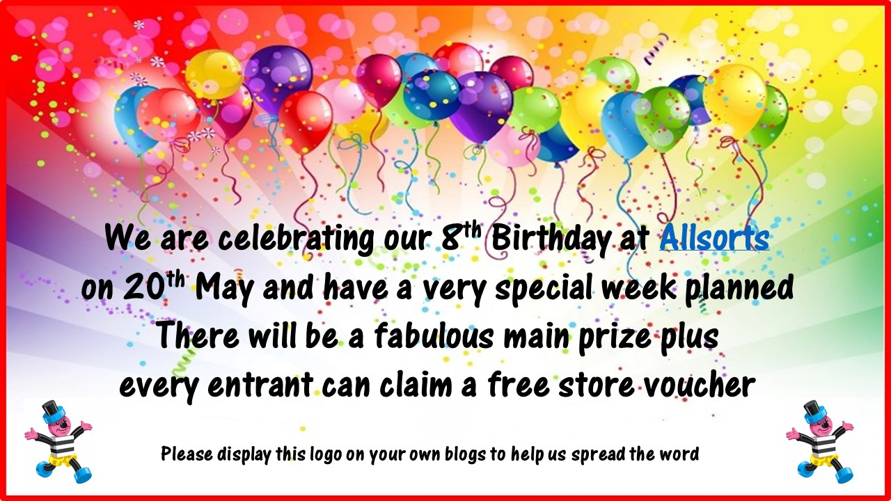 Allsorts 8th Birthday Celebrations