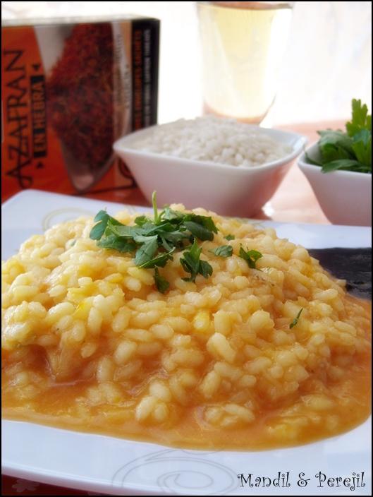 Mandil perejil arroz cremoso con bacalao - Arroz blanco con bacalao ...