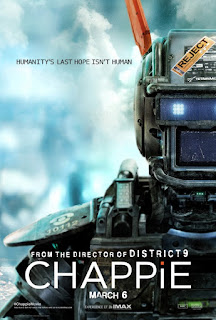 Chappie 2015 Dual Audio Hindi BluRay 180Mb hevc