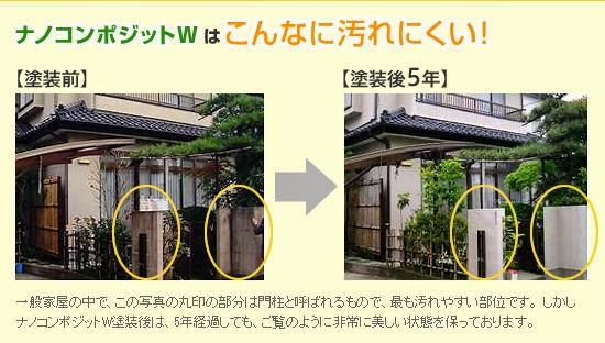 エコ塗装/屋根塗装/外壁塗装/塗装/塗替え/耐久年数/塗替え費用/地球環境対応/co2削減/低汚染