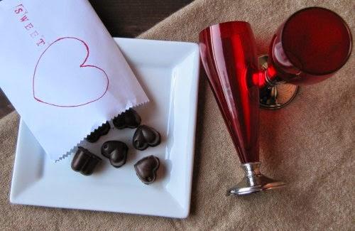 Presentación bombones de chocolate con Peta Zetas
