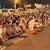 الآلاف في تظاهرة حاشدة رفضًا للانقلاب العسكري أمام القرية الأوليمبية بالمنصورة