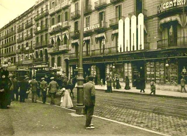 Barcelona ahora y siempre calle pelayo 1901 1920 for Oficinas de pelayo en barcelona