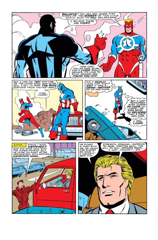 Captain America (1968) Issue #327 #256 - English 22