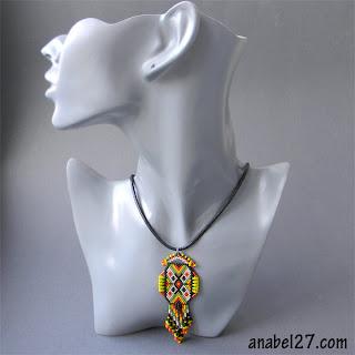 подарок девушке женщине яркое оригинальное украшение anabel