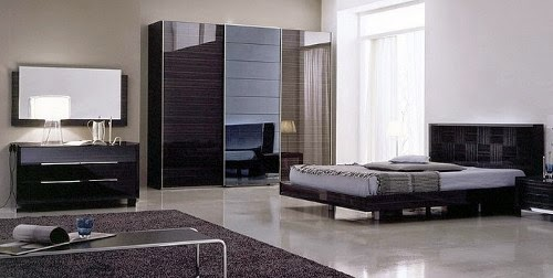 luxury japanese bedroom furniture set design