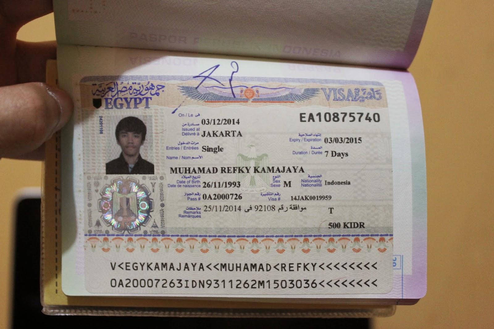 Visa Mesir