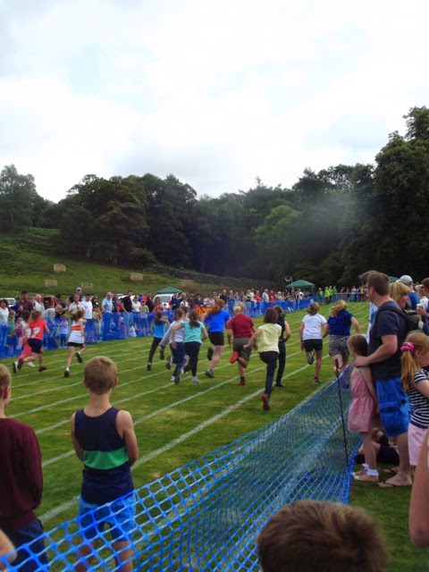 Ambleside Sports girls' sprint