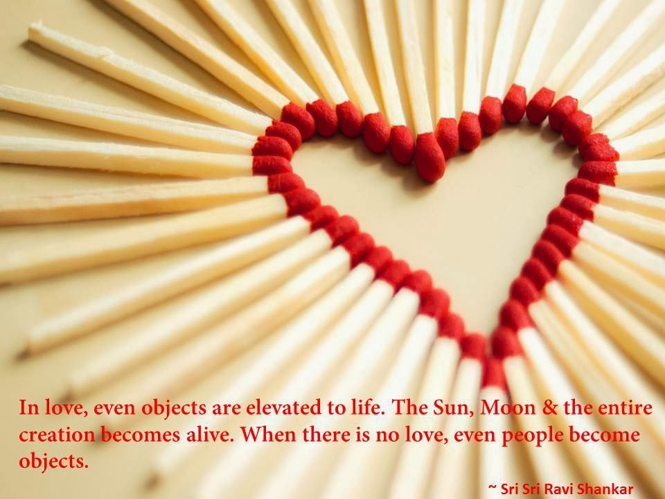 Valentine's Day Quote By Sri Sri Ravi Shankar