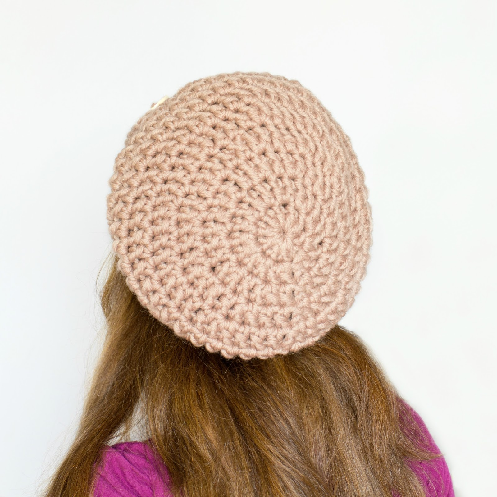 Crochet Patterns Slouchy Beanie : ... Honey Craft, Crochet, Create: Chunky Slouchy Beanie Crochet Pattern