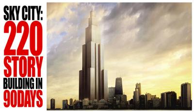 Sky City to be built spring 2013
