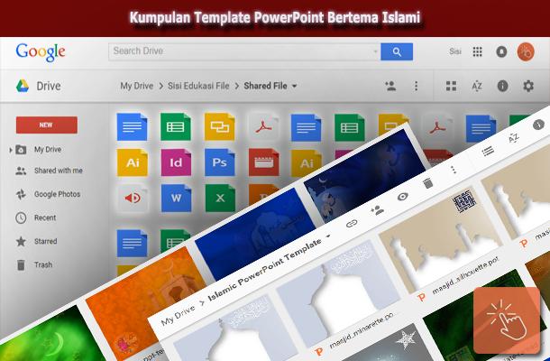 Kumpulan Template PowerPoint Bertema Islami (Islamic)