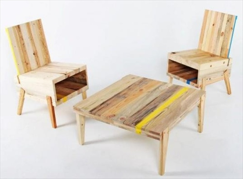 Reclaimed Table Recycled Wood Furniture