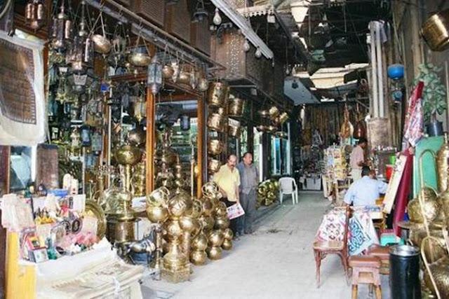 الاسواق في القاهرة