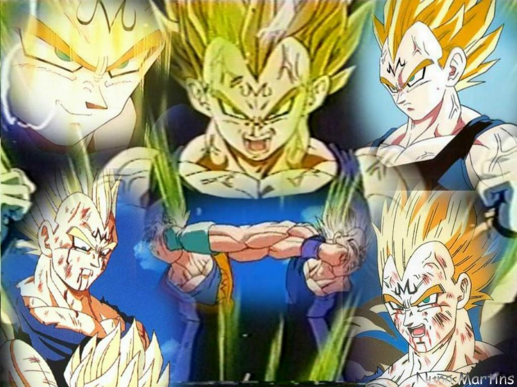 dragon ball z majin vegeta