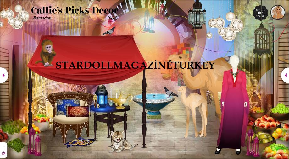Callie 39 s picks decor no 5 ramazan stardoll magazine turkey for Dekor turkey