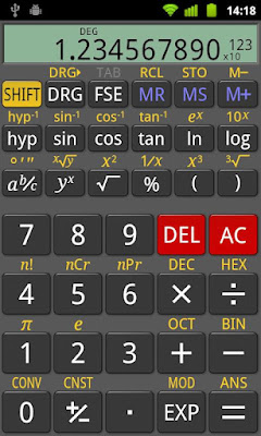 RealCalc Plus apk - android scientific calculator apps
