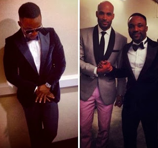 Iyanya Vs Boris Kodjoe who wore the Suits Betterat the Soul Train Awards ?