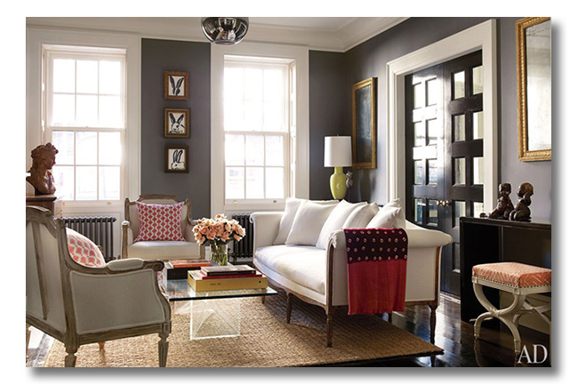 A perfect gray chelsea gray for Benjamin moore chelsea gray paint