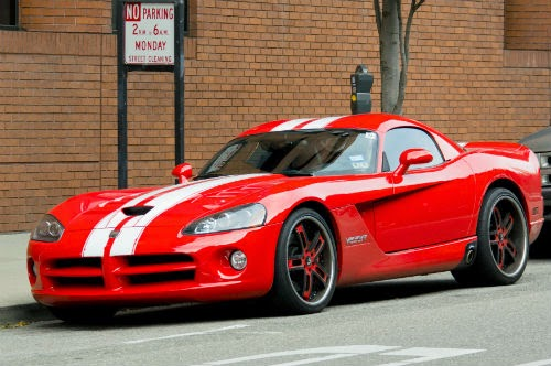 image of adventure dodge viper red