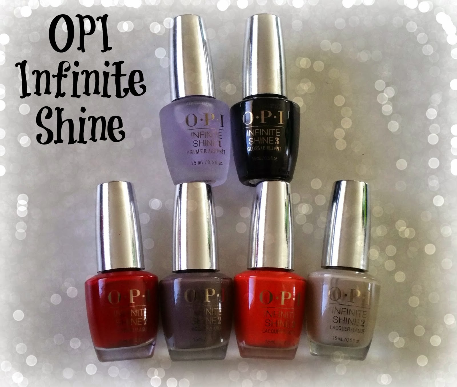 Obsessive Cosmetic Hoarders Unite!: NEW! OPI Infinite Shine Gel ...