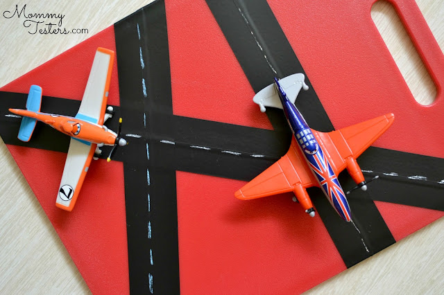 Disney Planes DIY Airplane entertainment busy board for kids DIY travel board  #worldofcars #shop #cbias