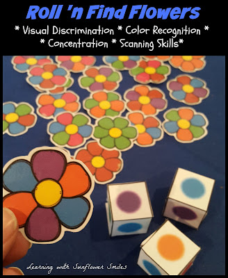 https://www.teacherspayteachers.com/Product/Color-Recognition-Flower-Game-1904165