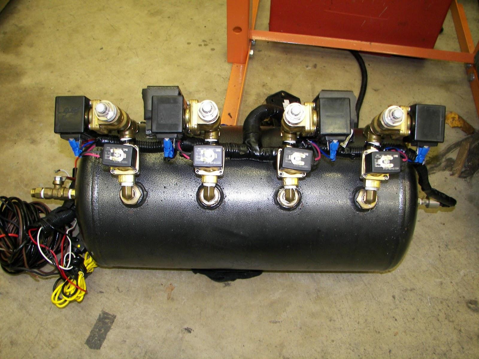 Lowrider Air Bag Kits1