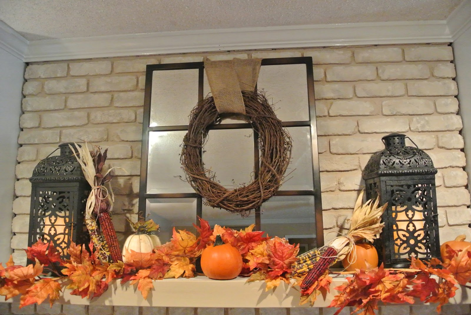 Fireplace Decorating: Decorate A Mantel For Fall