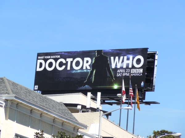 Doctor Who season 6 billboard Los Angeles