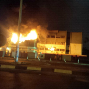 Fire guts PDP National Secretariat in Abuja